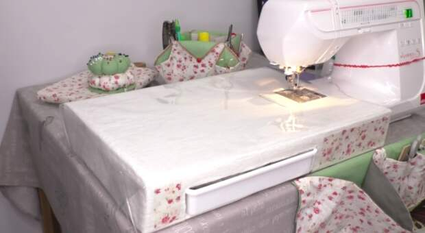Приставной столик для швейной машинки своими руками