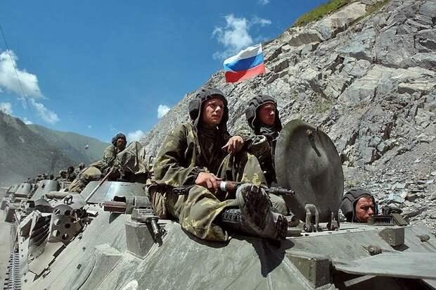 """Операция """"Принуждение к миру"""", российская армия, Южная Осетия, 2008 г. Источник изображения: https://vk.com/denis_siniy"""