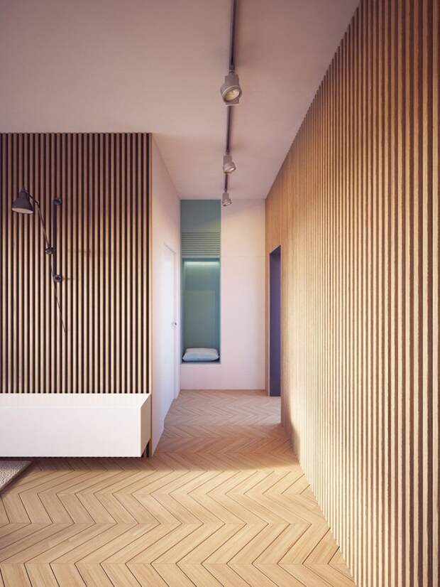 Современное освещение в коридоре: как расставить светильники, чтобы пространство выглядело стильно (74 фото)