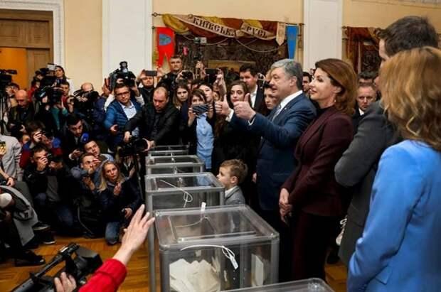 Порошенко отдал свой голос «за Украину»