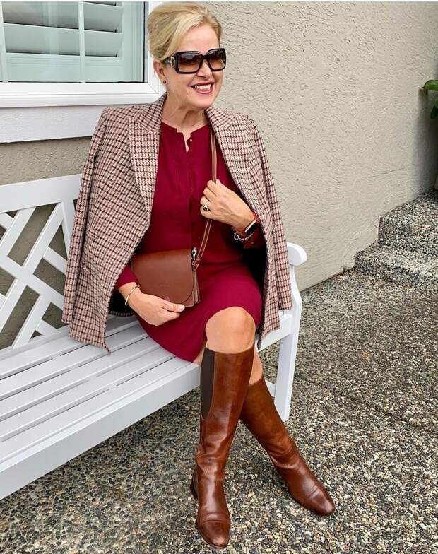 Высокие сапоги в осеннем образе: какие выбрать, с чем носить, чтобы выглядеть стильно