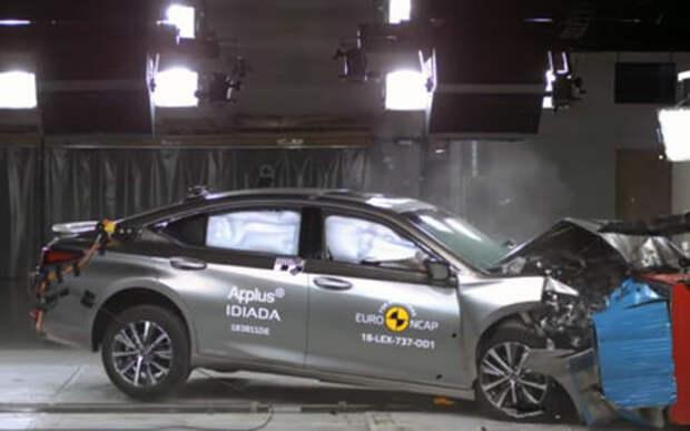 Euro NCAP впервые разбила водородный автомобиль
