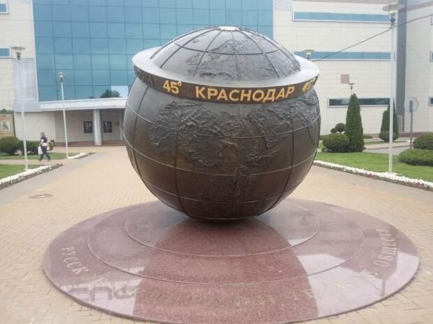 Скульптуру «45 параллель» откроют в Краснодаре 18 августа
