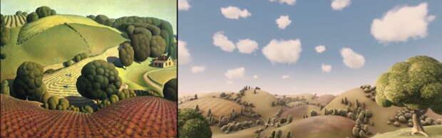 Известные кинокадры, которые были позаимствованы у знаменитых шедевров живописи