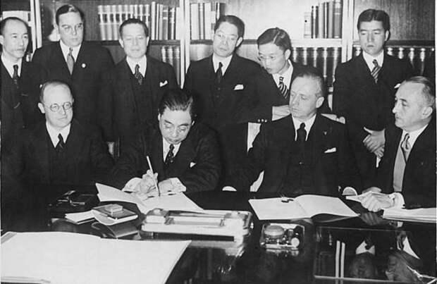 Советско-германский договор о ненападении 23 августа 1939 года и Япония