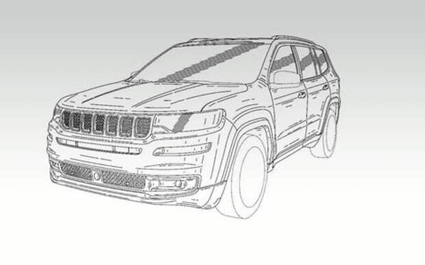 Самый большой Jeep: первые изображения и название