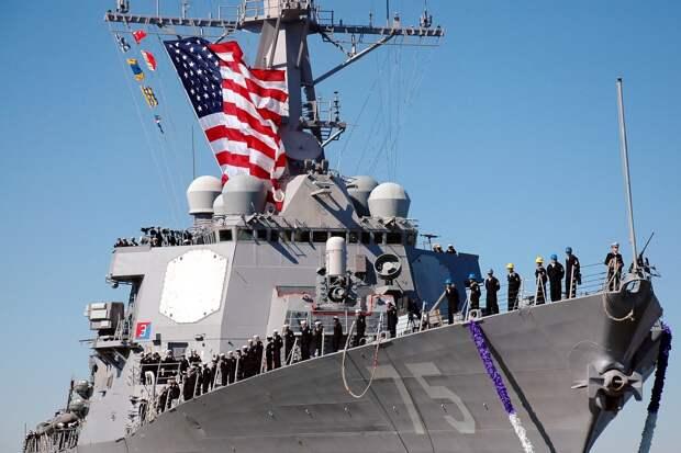 Эксперты выяснили причины наглого поведения США в Черном море