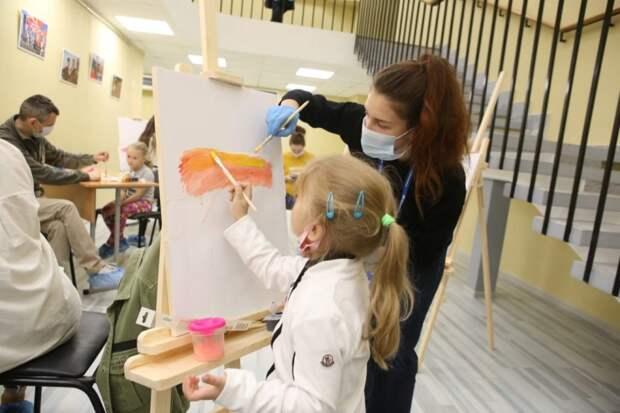 В районе Хорошёво-Мневники открылся центр «Притяжение» для всех поколений