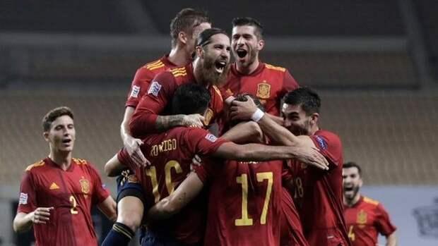 Сборная Испании представила второй комплект формы на Евро-2020