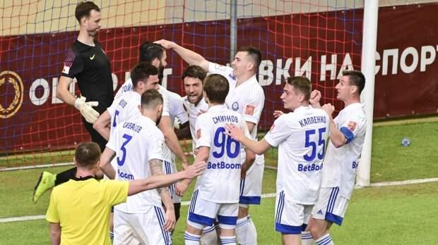 ФК «Оренбург» в гостях вырвал победу у «Енисея»
