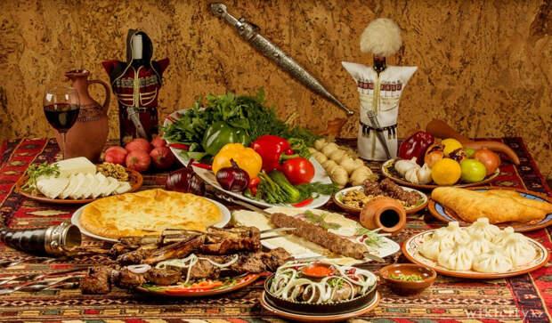 Вся роскошь грузинской кухни, или «Полный мцвади тебе, генацвале!»