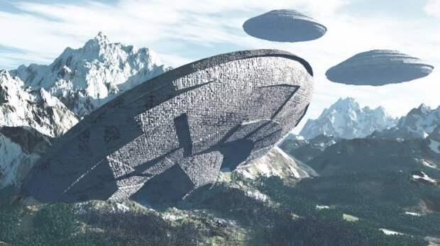 НЛО как мемориальные комплексы инопланетян