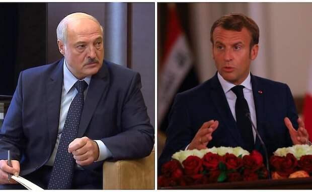 Лукашенко едко осадил болтливого Макрона