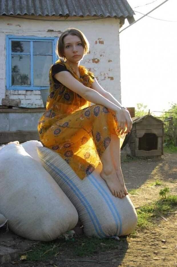 Красавицы из деревень. Фотографии одних из самых красивых сельских ...