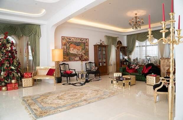 Ремонт в доме Киркорова выполнен в стиле итальянской неокласики