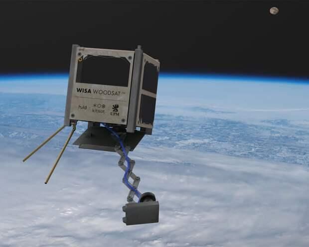 В Финляндии рассказали о скором запуске на орбиту Земли первого деревянного спутника