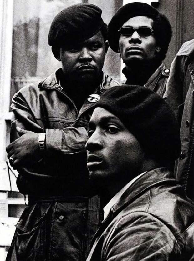 Социальные конфронтации в США 1960-х - 1970-х годов: Леворадикальная Партия черных пантер   (13)