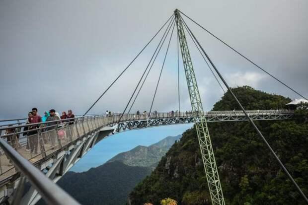 Мосты не для слабонервных из разных стран мира (12 фото)