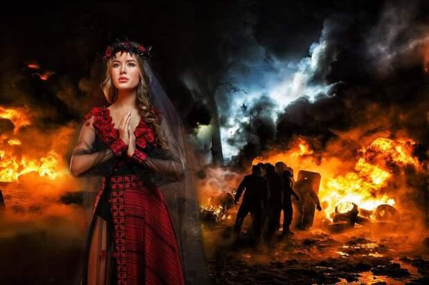 Украину на ''Мисс Вселенная-2014'' представит ''Невеста войны'' с черной фатой - фото 1