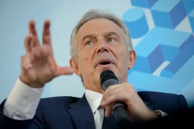 Россия, убирайся с Донбасса и Крыма: Тони Блэр закатил антироссийскую истерику в Киеве