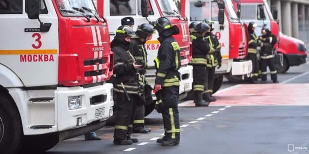 На тушение мусоропровода в доме на Клинской выезжали пожарные
