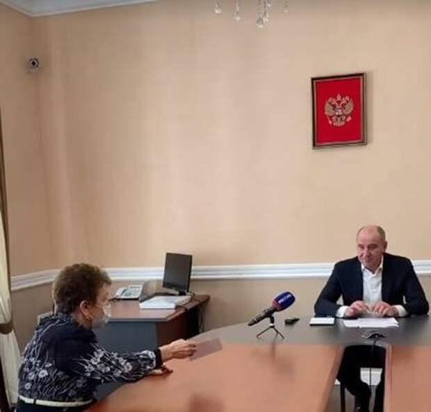 Рашид Темрезов принял решение о строительстве и благоустройстве ряда социальных объектов по итогам приема граждан