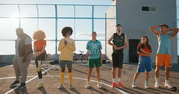Nike объявил эру нового футбола — без границ и предрассудков