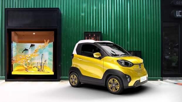 Карчик-с-пальчик: китайцы представили самый дешевый в мире электромобиль