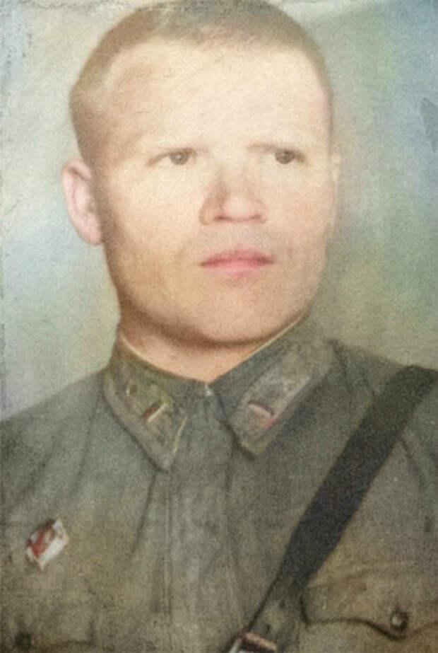 Алёшин Семён Михеевич — командир звена 44-го отдельного скоростного бомбардировочного авиационного полка Ленинградского фронта, капитан.