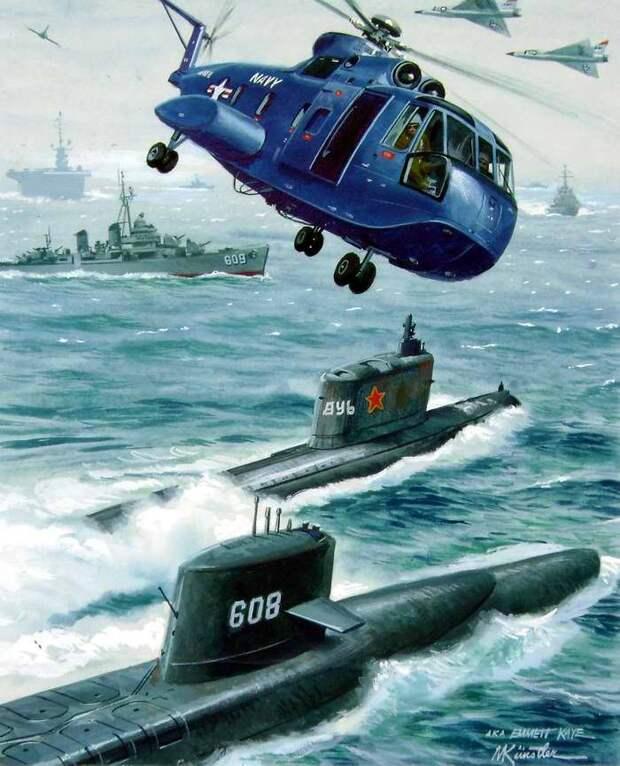 Война США и СССР глазами американских художников
