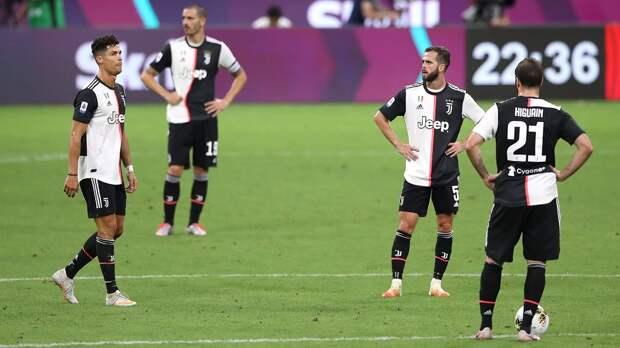 Самый кошмарный матч «Юве» в 2020-м: вели 2:0 и получили от «Милана» четыре за 18 минут