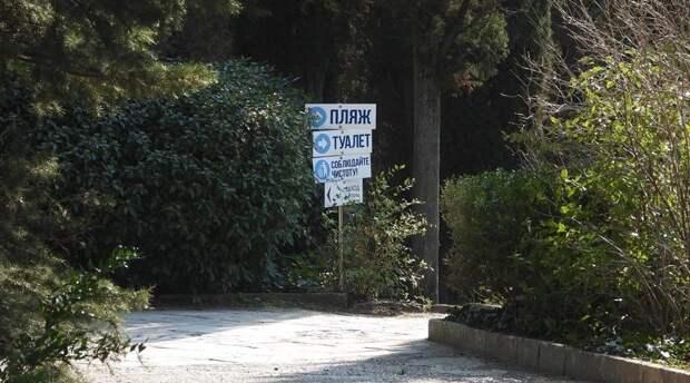 Строители начали уборку Форосского парка после визита правительственной комиссии