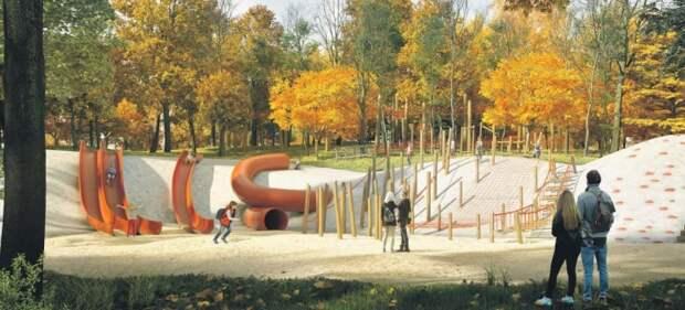 В парке «Яуза» началась инженерная подготовка к благоустройству