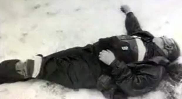 Убитый Максимов