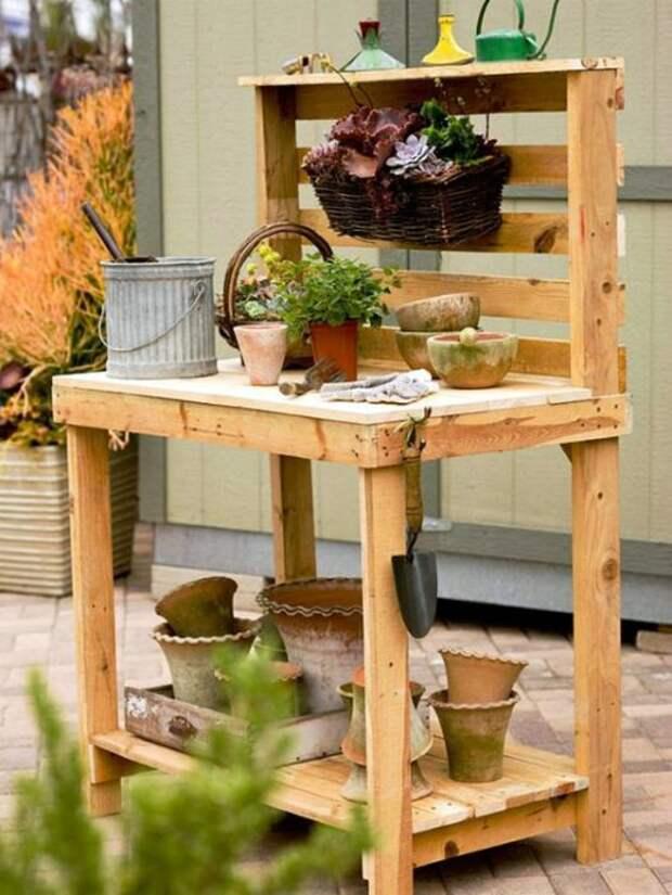 Фантастические идеи из поддонов в интерьере дома и сада