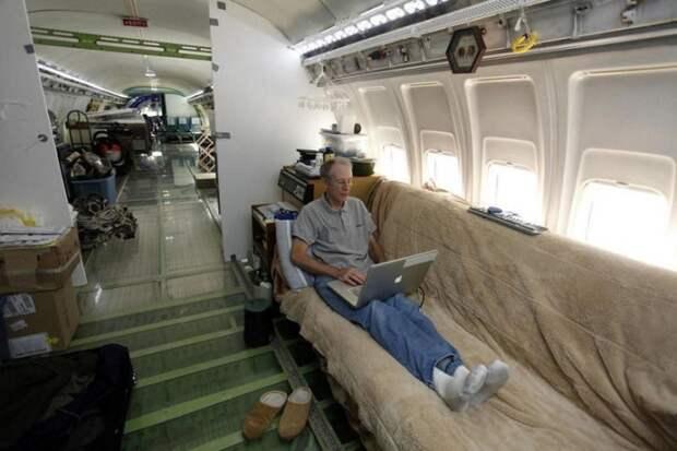 Дом из самолёта