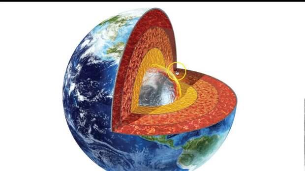 Внутри земного ядра обнаружили ранее неизвестный слой