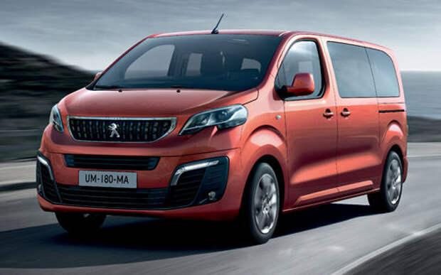 Объявлены рублевые цены на минивэны Сitroen Spacetourer и Peugeot Traveller