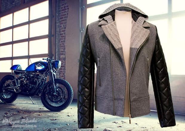 Куртка байкера сшить своими руками