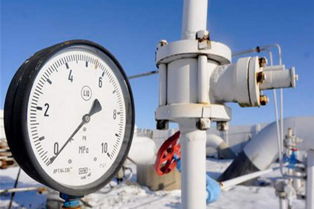 ЕС импорт газ ФРГ транзит