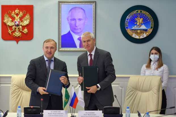 Министерство спорта России и Республика Адыгея подписали соглашение о сотрудничестве