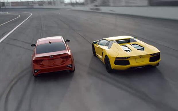 Что они себе позволяют? Kia Cerato сравнили с Lamborghini