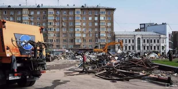На севере Москвы в феврале выявлен 21 объект самовольного строительства