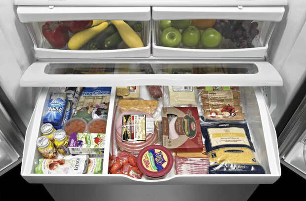 Упорядочиваем еду в холодильнике: будет храниться в 2 раза дольше