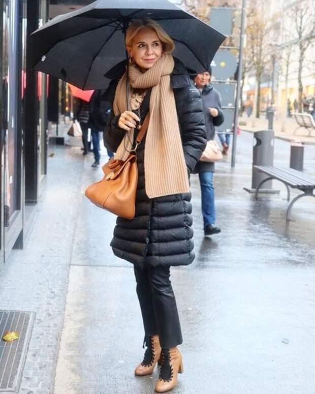 Шарф, который сделает осень стильной: какой шарф выбрать и как носить, чтобы согреться и быть привлекательной