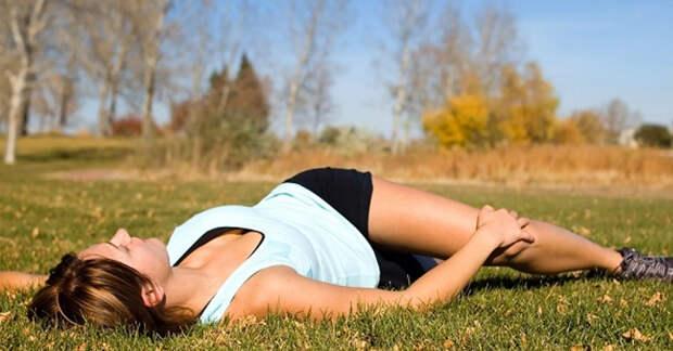 7 простых упражнений избавят от боль в пояснице за 5-7 минут!