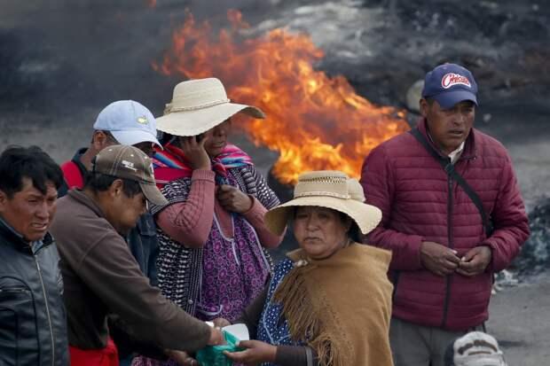 Правая реакция в действии: кто и зачем сверг Эво Моралеса