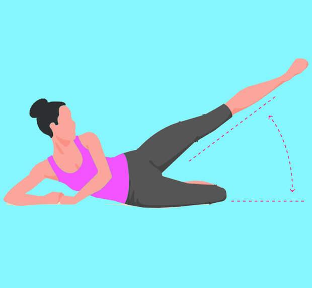 ТОП-6 упражнений для стройных бедер