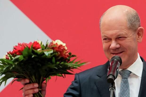 У социал-демократа Шольца больше шансов возглавить правительство Германии