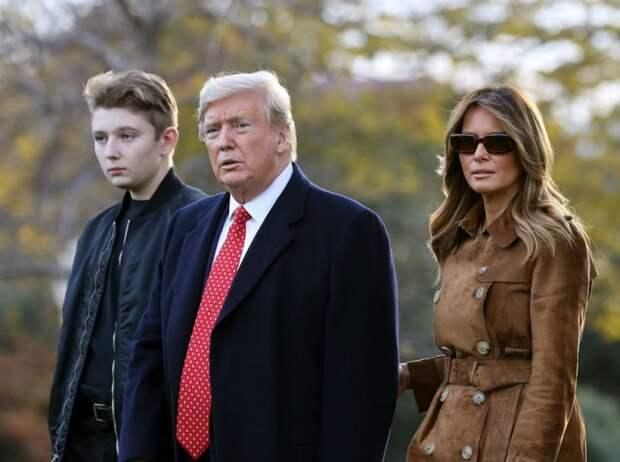 Чем жизнь Бэррона Трампа отличается от жизни детей других президентов